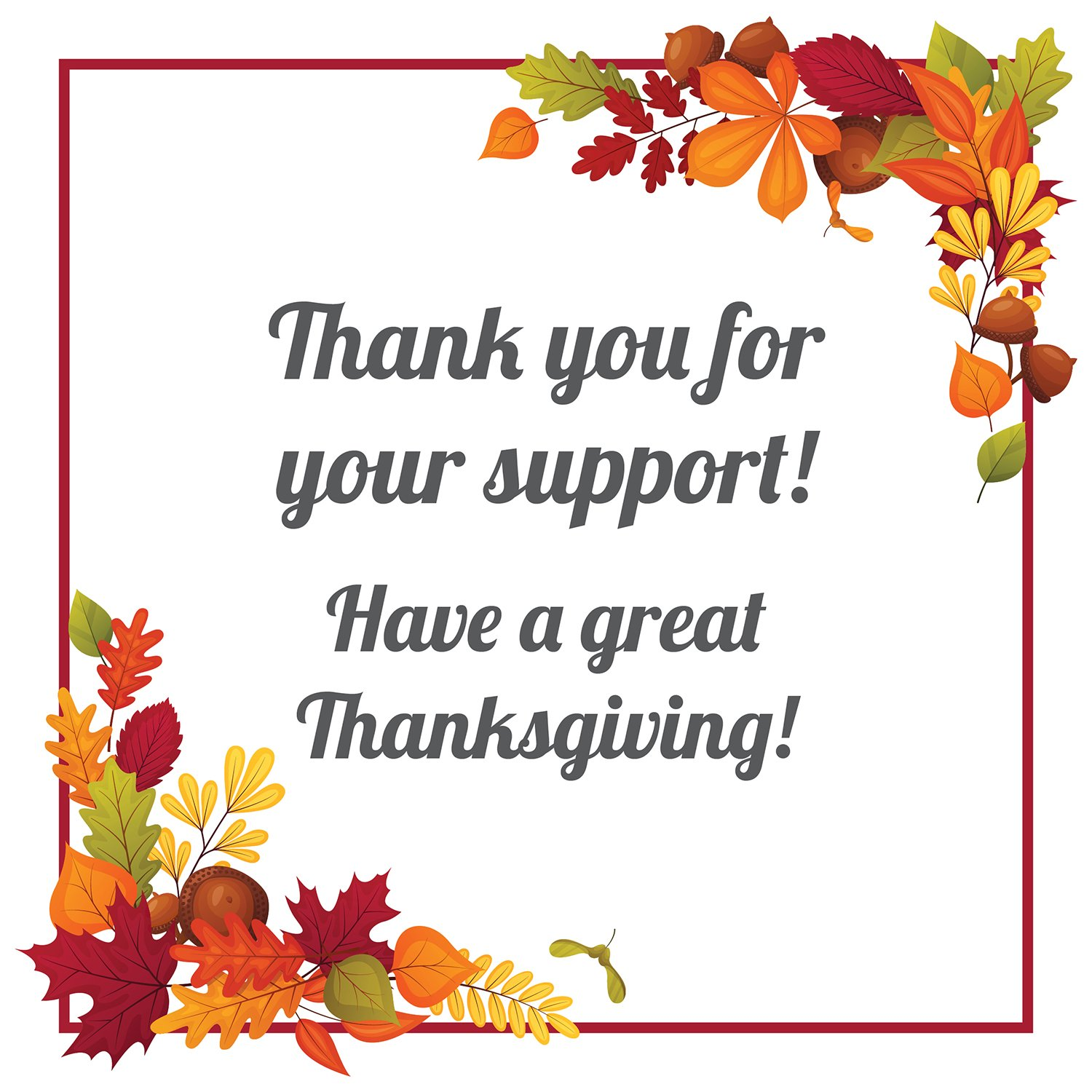 Thank You for Your Support!   Simplifying The Market