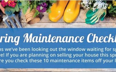Your Home's Spring Maintenance Checklist [INFOGRAPHIC