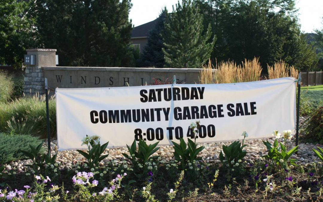 2019 Windshire Park Community Garage Sale