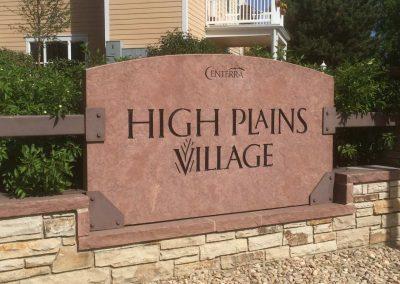 High Plains Village Neighborhood