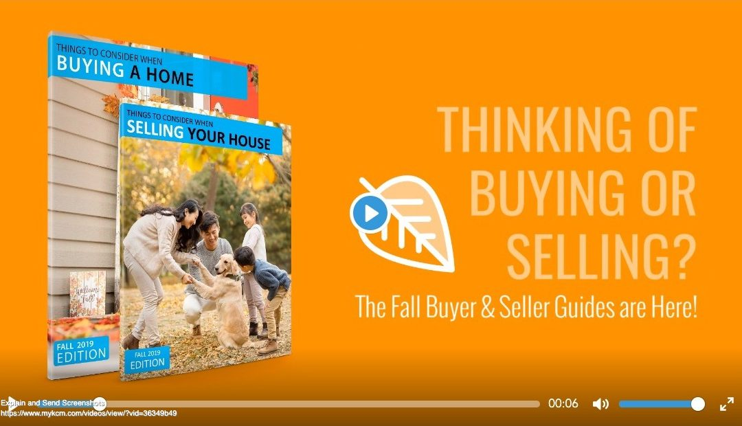 Fall 2019- Buyer & Seller Guides