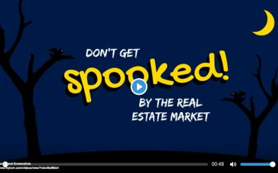 Don't get spooked by the real estate market