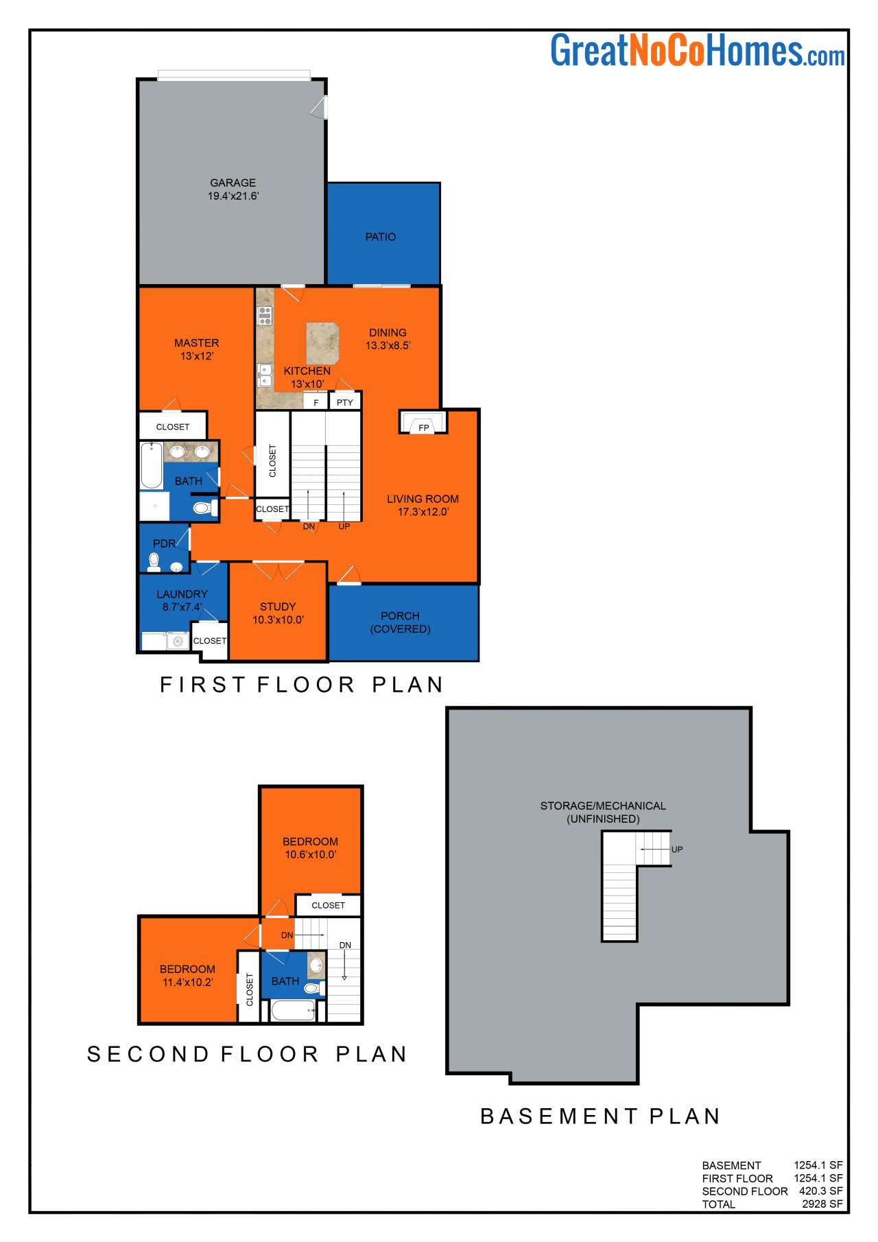 Plum Creek Floor Plan