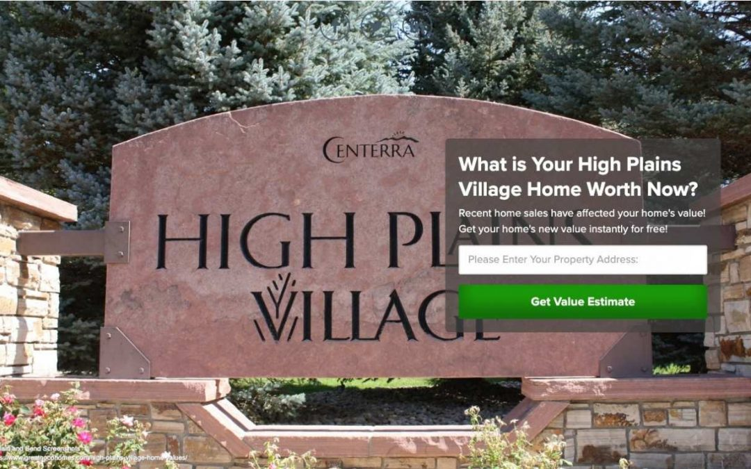 High Plains Village Home Values