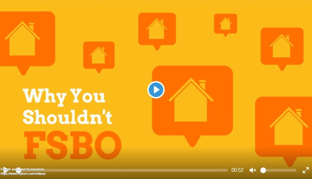 Why Your Shouldn't FSBO