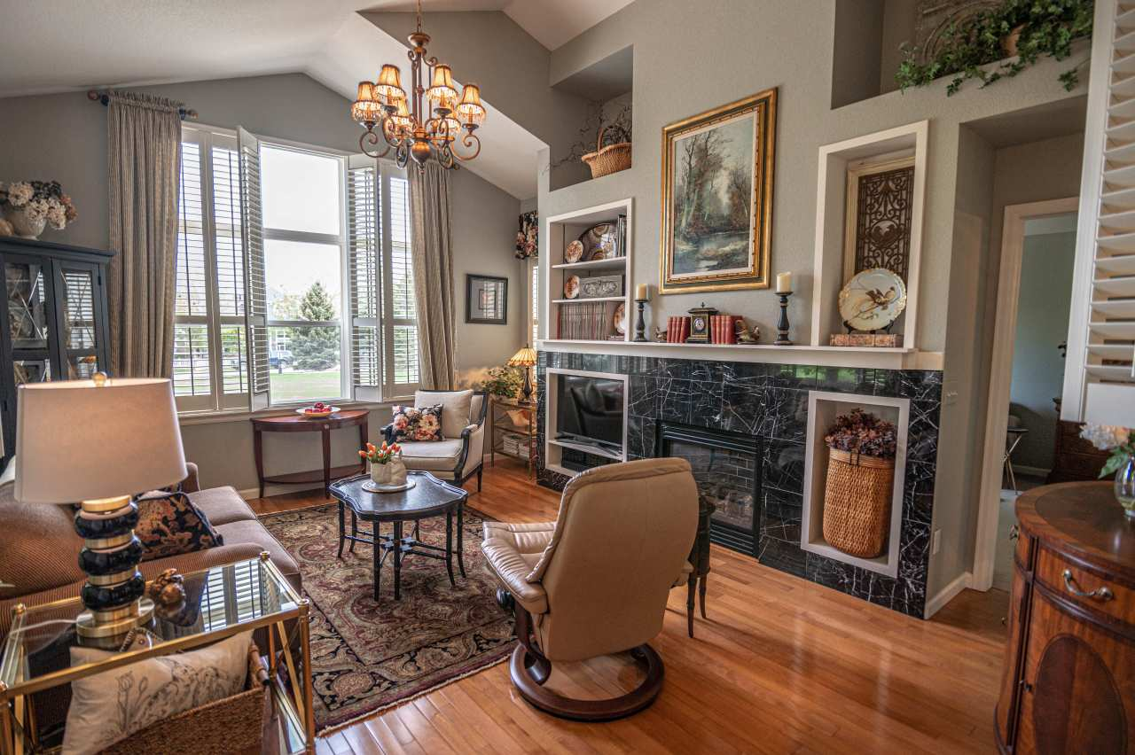 JUST SOLD- 4045 Temple Gulch CIR Loveland CO- Stunning End Unit Townhome in High Plains Village